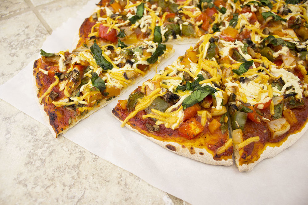 Epic Homemade Vegan Pizza