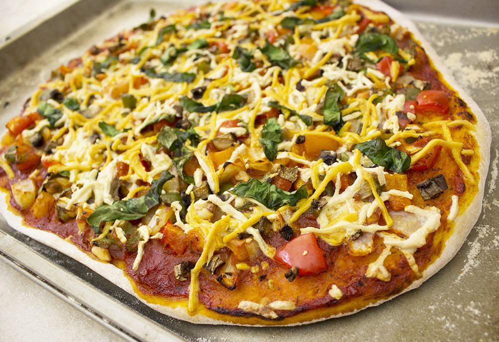 Epic Vegan Pizza From Scratch