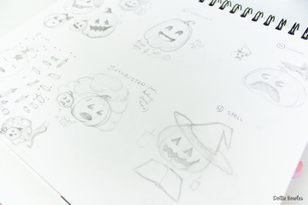 Inktober 2018 Sketching