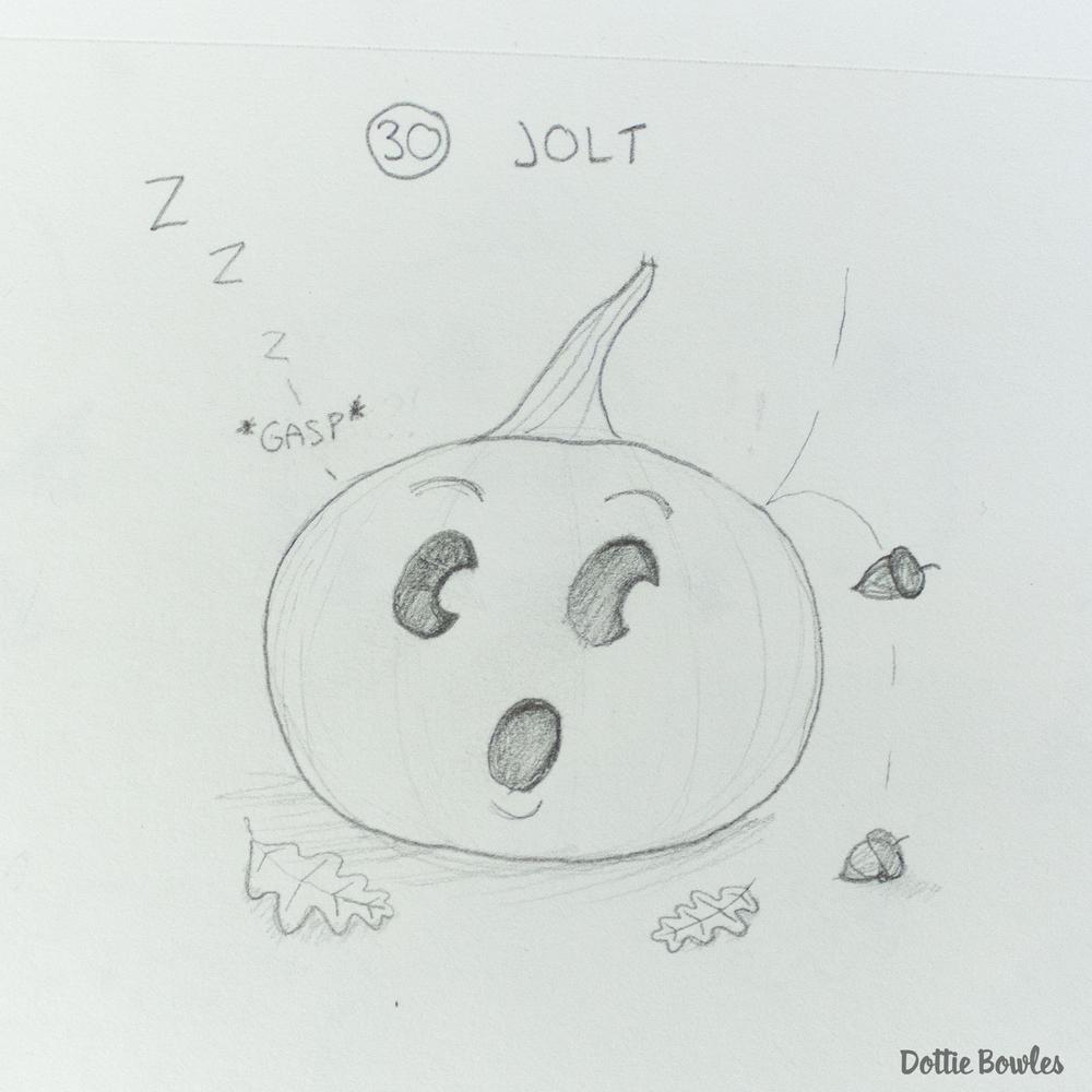Inktober 2018 Sketch by Dottie Bowles
