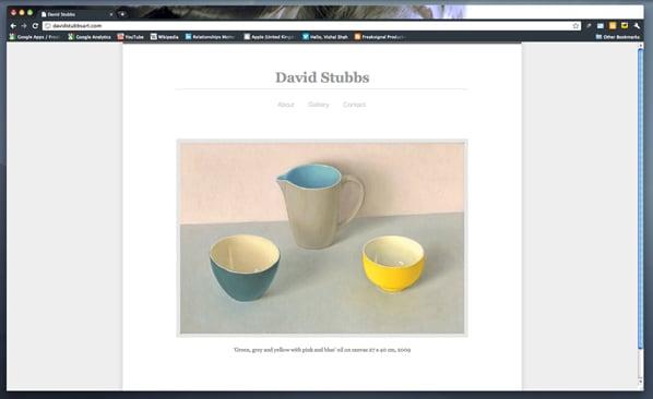 David Stubbs Website