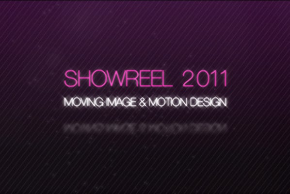 New Showreel 2011