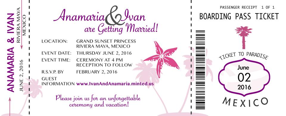 Частен клиент– покана за сватба.