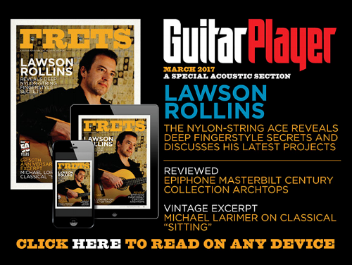 Guitar Player Magazine, March 2017 issue