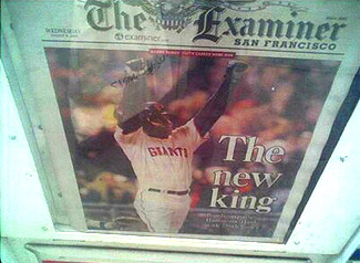 sf examiner front page