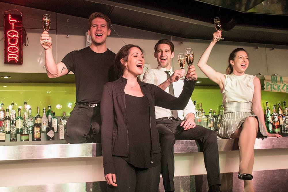 Daisy in  The Imbible: Day Drinking  (Currently running in New York City at New World Stages!)