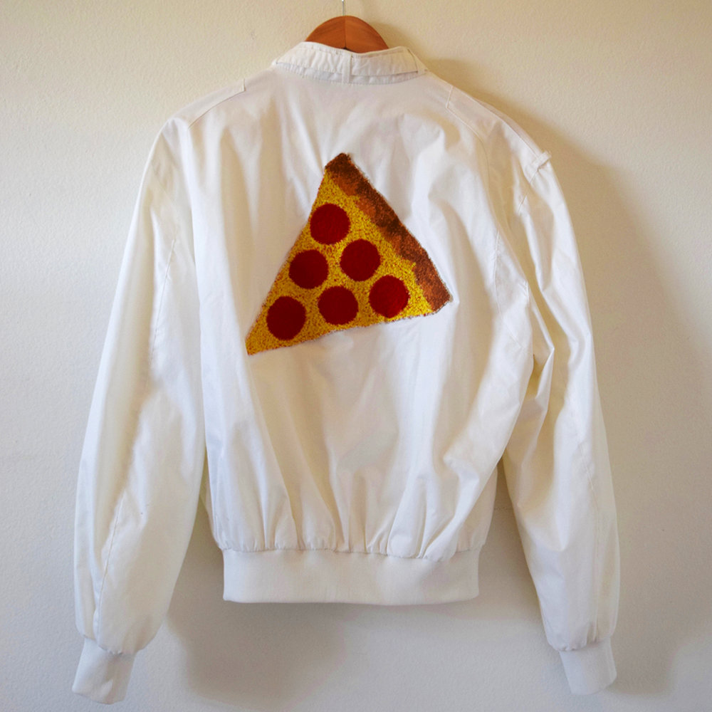Pizza Jacket (White) - Back.jpg