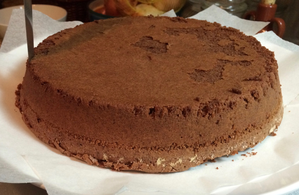 The edges will also tend to be more dry, so you are left with the center part of the cake that is more moist.