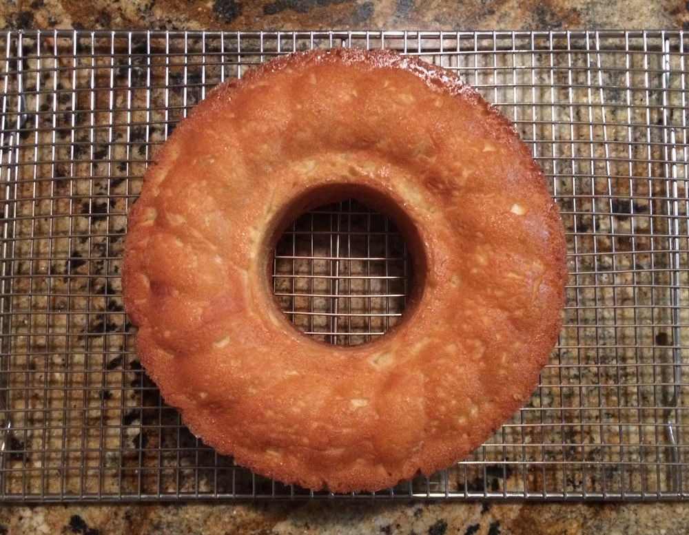 Savarin right side up