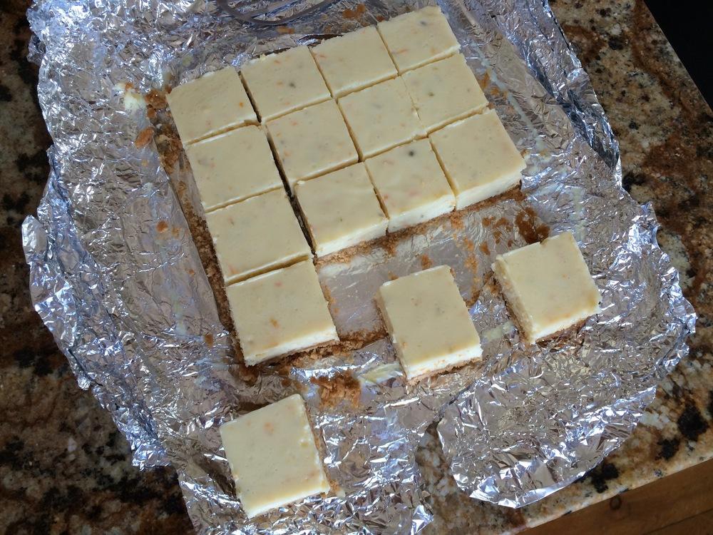 Squares of Citrus Bars