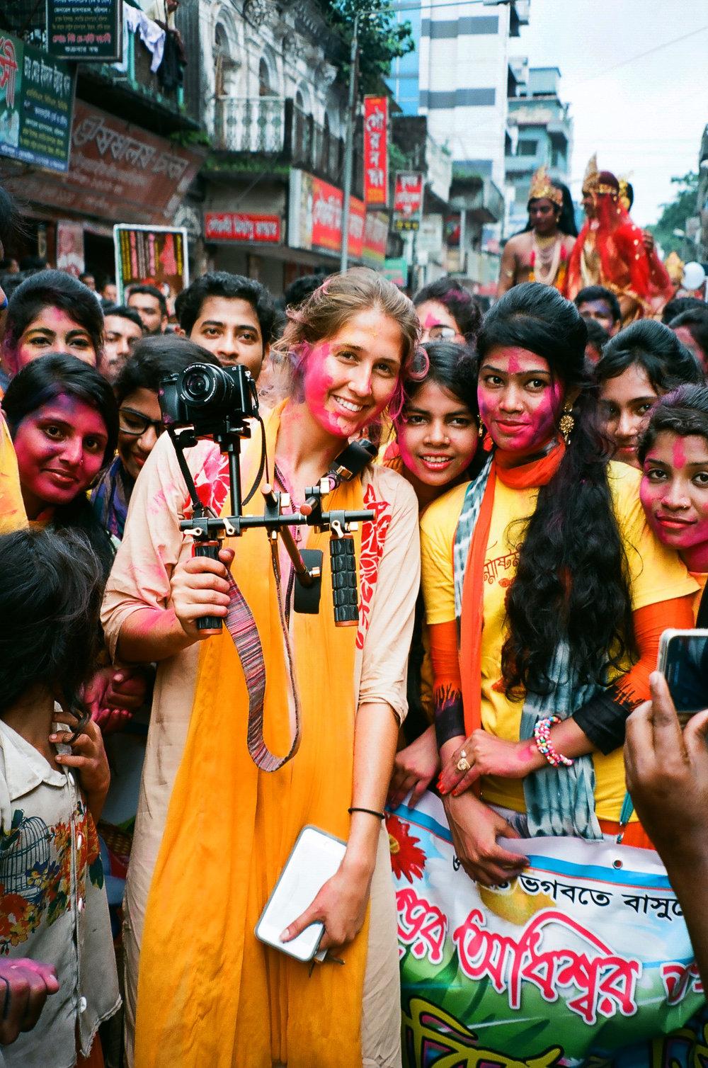 Me in Bangladesh