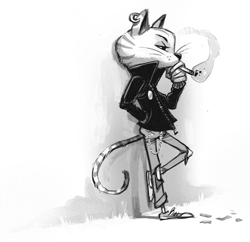 Zodiac Student: Cat