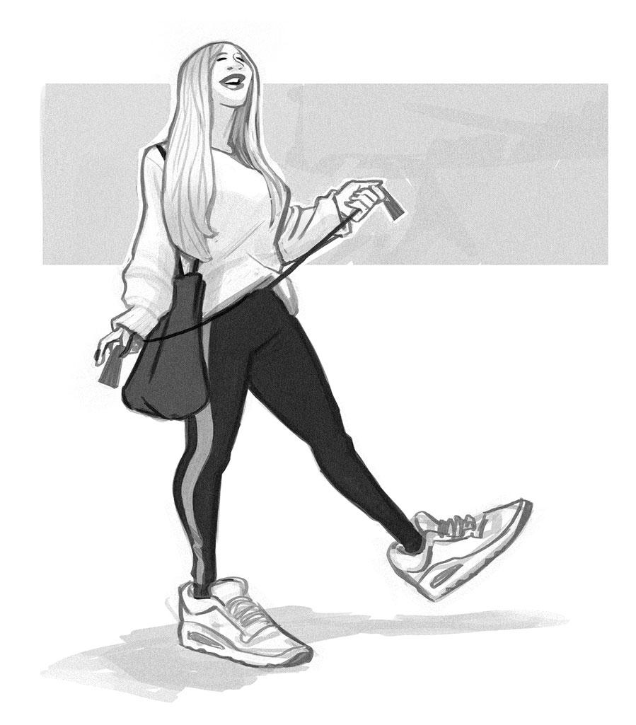 Gym Patron