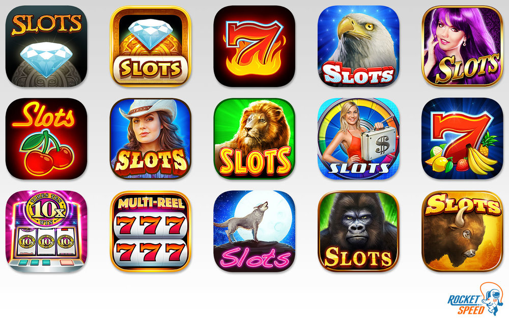 App Icons    Client: Rocket Speed Role: Art Director
