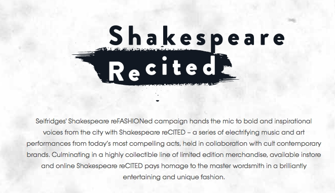 Shakespeare ReCited