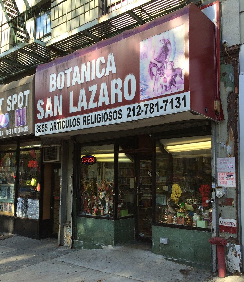 7. Botanica San Lazaro