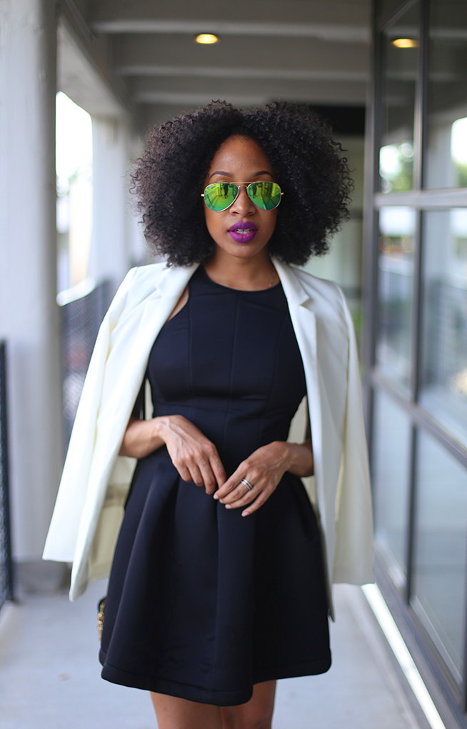 Little Black Dress   White Blazer — Mattieologie