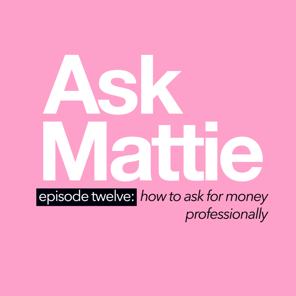 How To Ask For Money Profesionally
