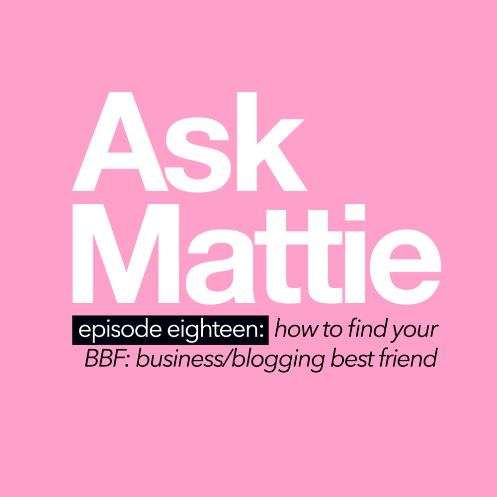How To Find Your BBF: Your Business/Blogging Best Friend