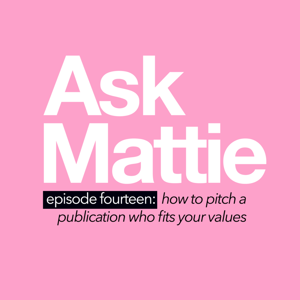 How To Pitch A Publication That Fits Your Values