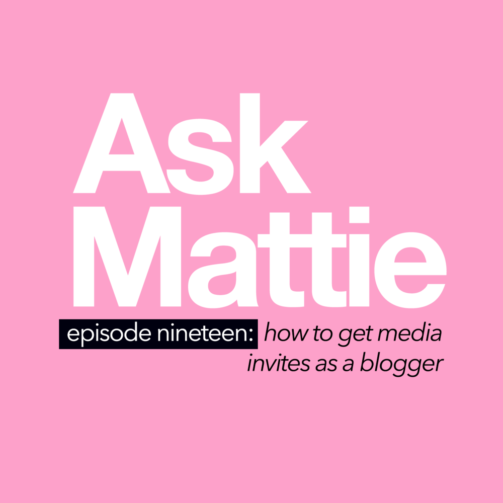 How To Get Media Invites As A Blogger