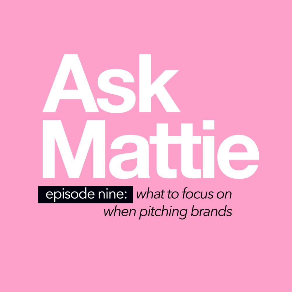 What To Focus On When Pitching Brands