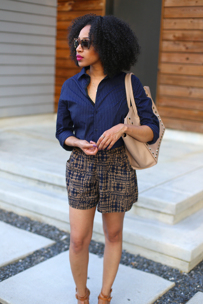 Men's Shirt + Printed Shorts