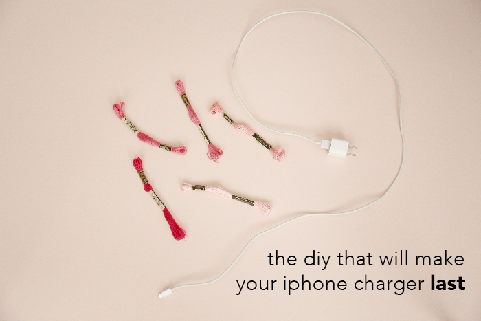 The DIY That Will Make Your iPhone Charger Last