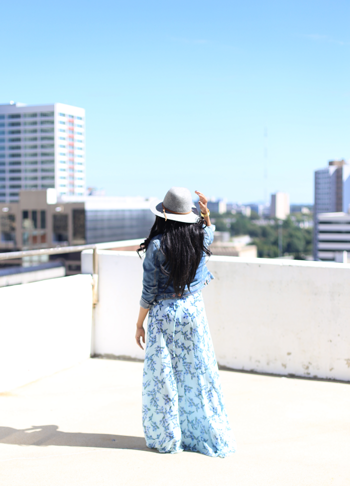 Mattieologie: Denim Jacket + Maxi Dress