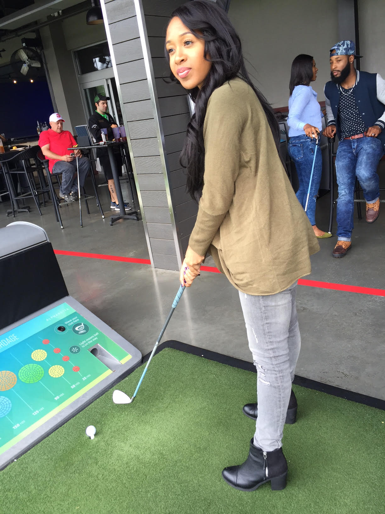 Mattieologie: #FirstTimersClub At Topgolf