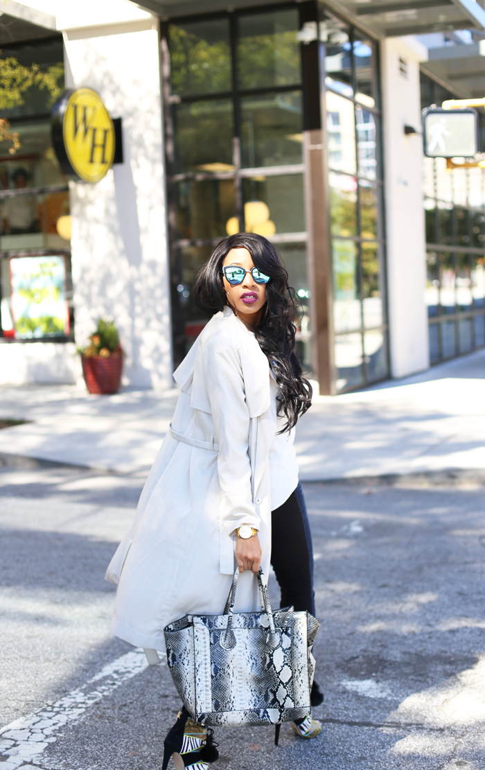 Mattieologie: Trench Coat + Skinny Jeans