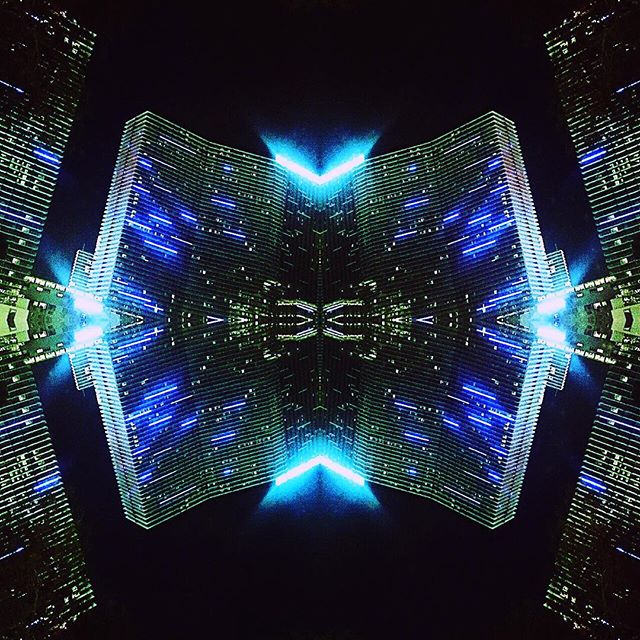 Living in the #grid. Tron would be proud!  #wizardsoul