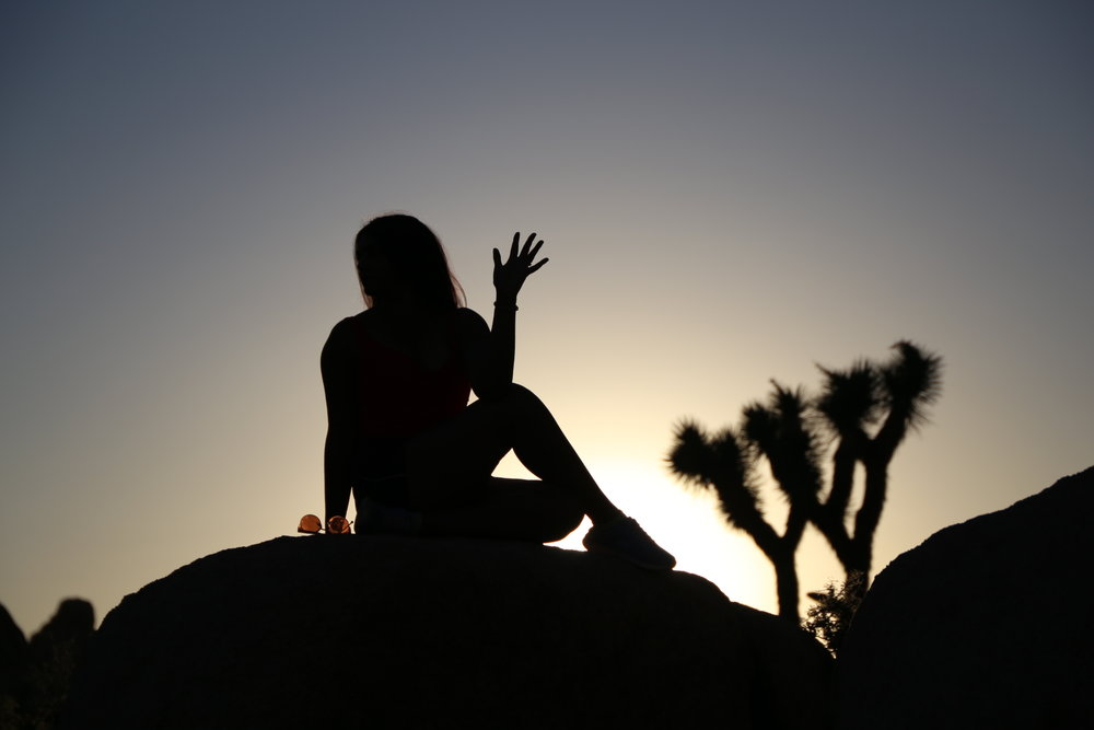 photo of Serita in Joshua Tree National Park