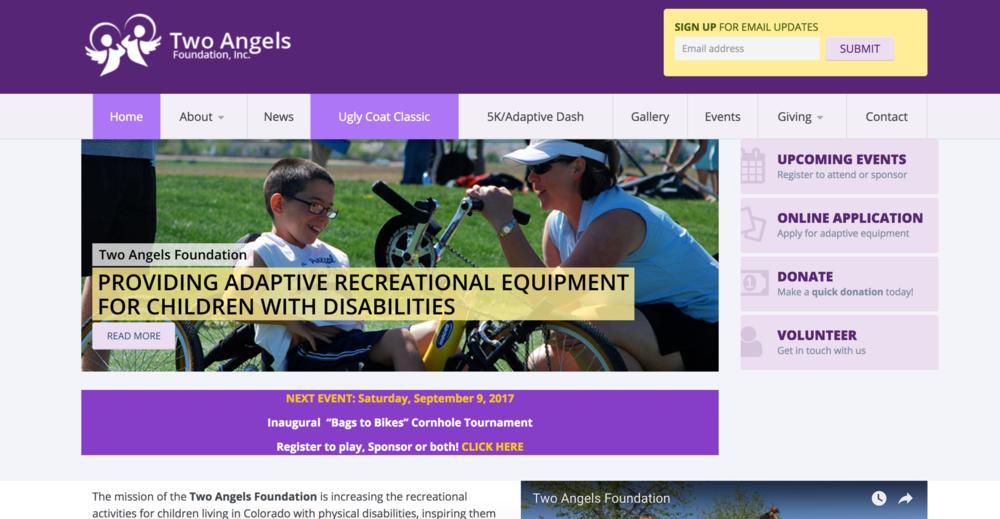 WEB DEVELOPMENT | SEO | SOCIAL MEDIA MANAGEMENT |    www.twoangelsfoundation.org