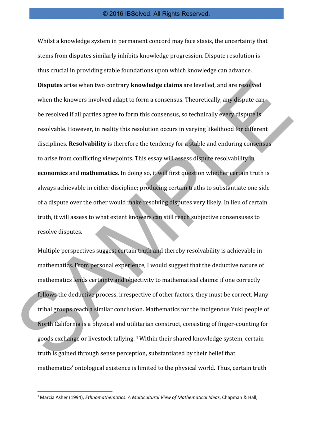 Thesis Statement Essay Tok Essay Q  November   Samples Of Persuasive Essays For High School Students also Essays On Science And Religion Ib Solved Grade  Notes Tutoring And Assessments  Ib Notes And  Thesis Statement Persuasive Essay