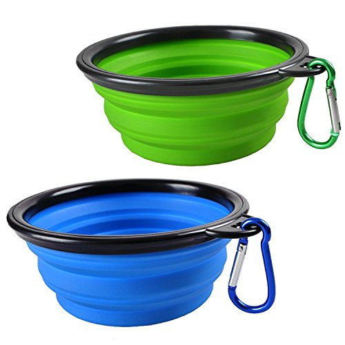 Sauby Collapsible Travel Bowls, $5.55