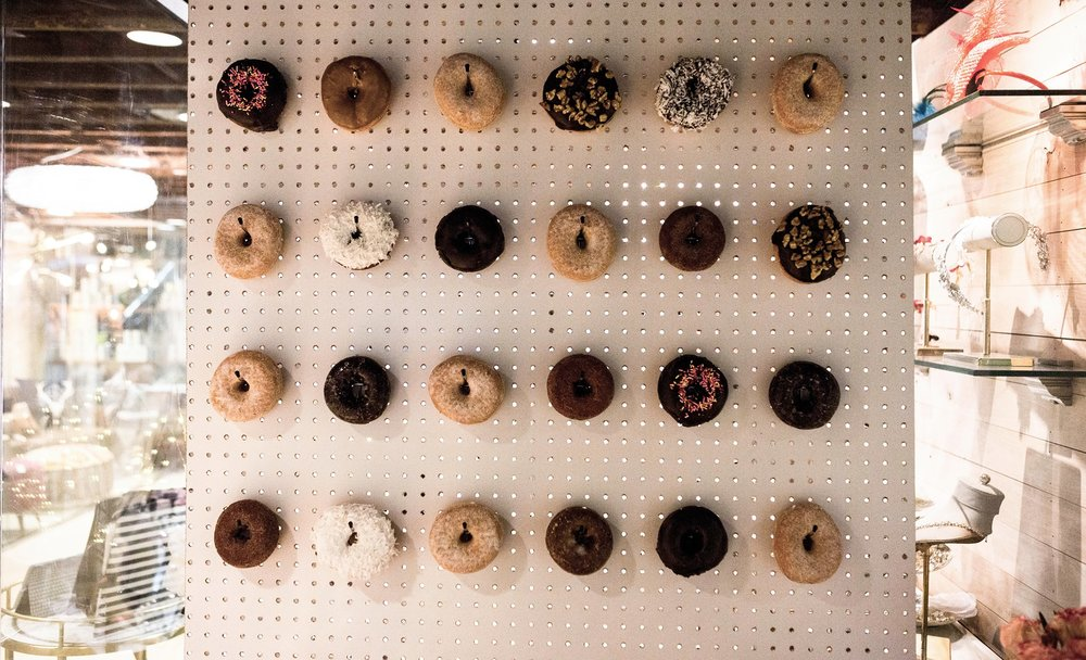 Promise Event Planners Doughnut Wall