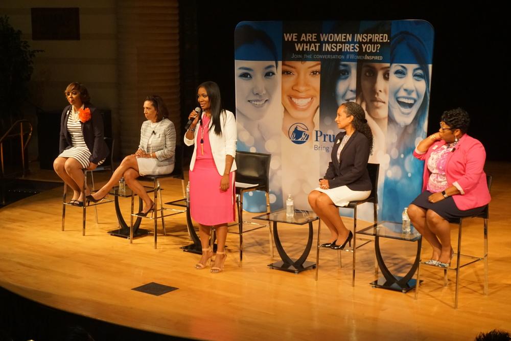 L to R: Khadija Wallace, Martha Newton, Cameka Smith, Avec O'Brien, and Priscilla Williams