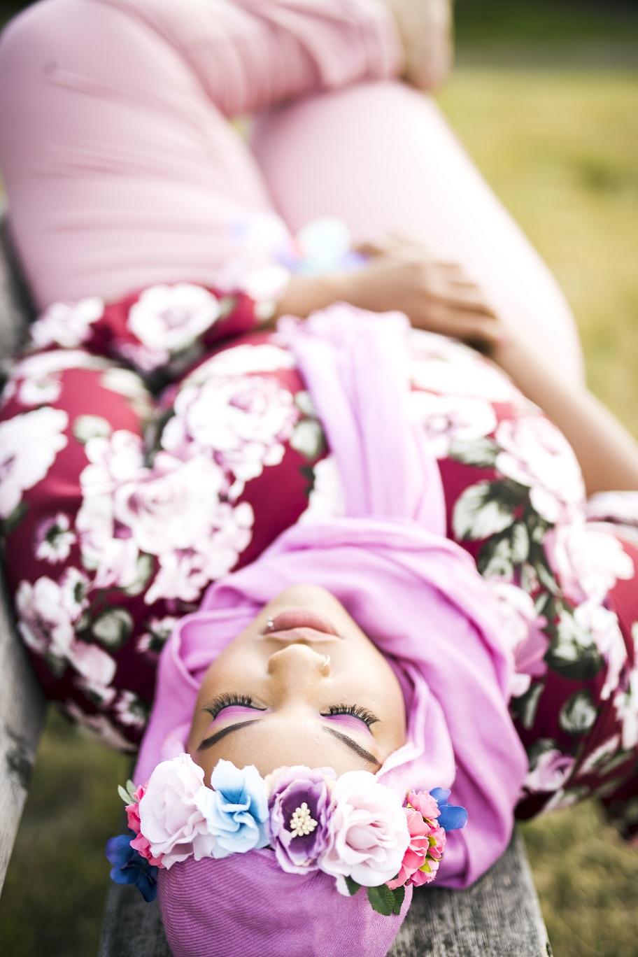 Makeup:  Madinah Muhammad