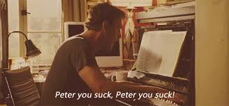 "Except replace ""Peter"" with ""Evan."""