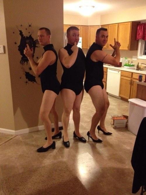 Beyonce's backup dancers!
