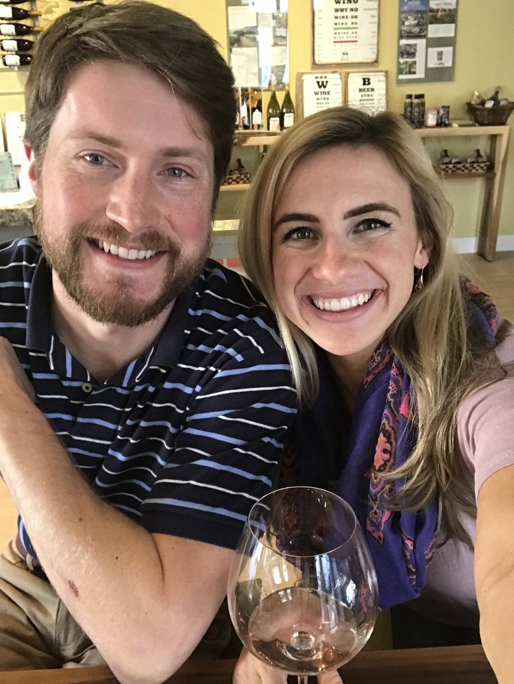"One of my favorite ""experiences"" with Jordan - wine tasting!"
