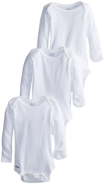 Gerber Unisex Baby Newborn 3 Pack Longsleeve Mitten Cuff Onesies Brand.jpg