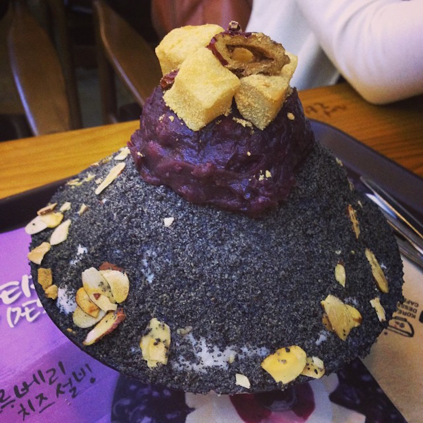 Pat bingsu Korean shaved ice