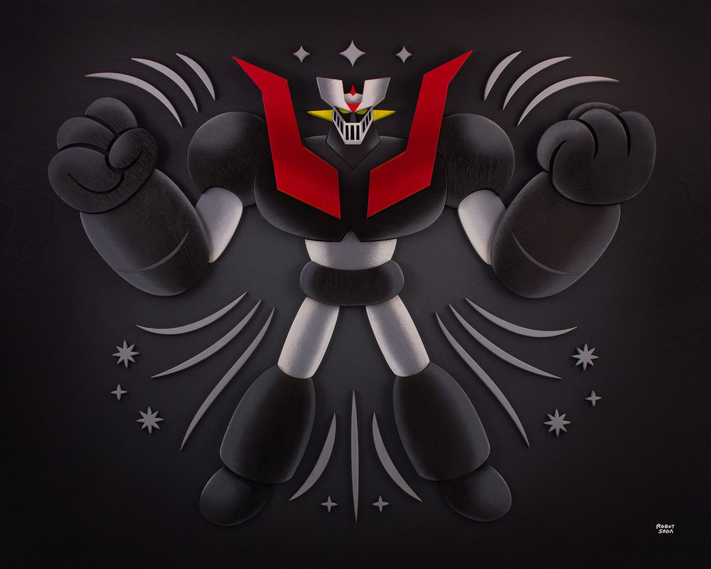 Robot Soda x Mazinger