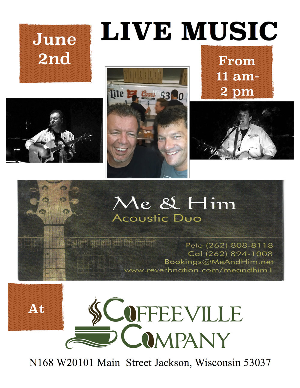 2016-2019 EVENTS — Coffeeville Company