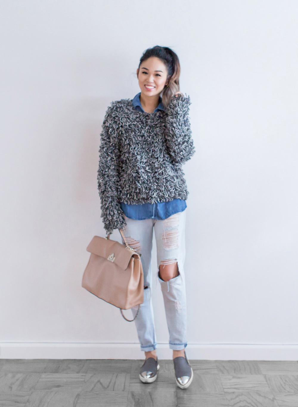 cocotrish style denim patricia chang sokophotos sweater casual