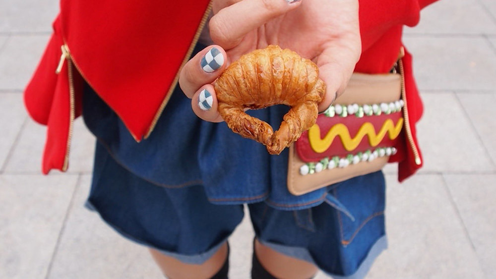 Mini Croissant, Hot Dog by Patricia Chang