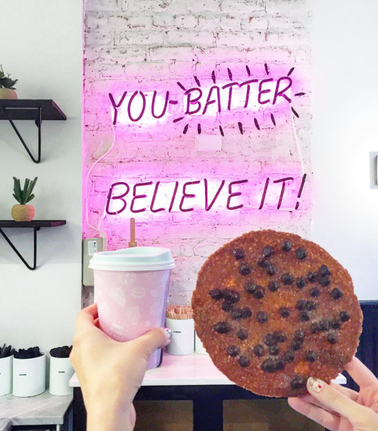 "Bakery, ""Sweets by Chloe"" Vegan Desserts in West Village Get: Giant Chocolate Chip Cookie"