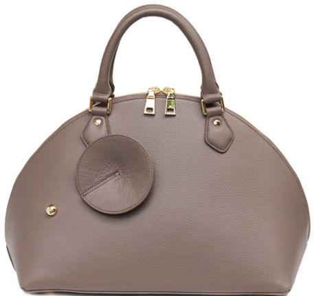 Shoulder Satchel $250 taupe